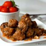 Beef Meatballs Agrodolce