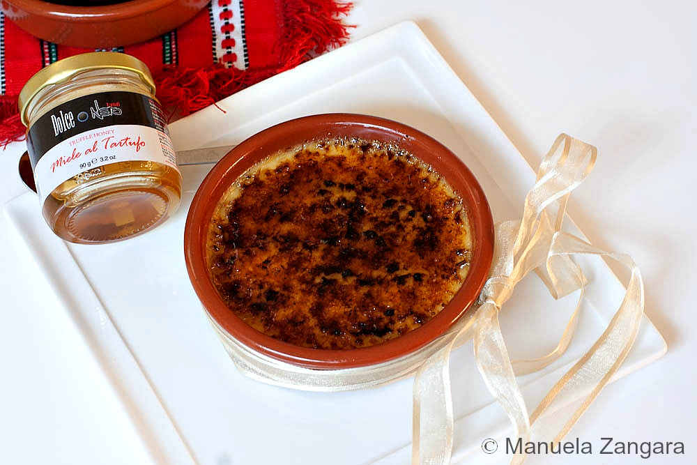 Truffle Honey & Vanilla Crème Brûlée