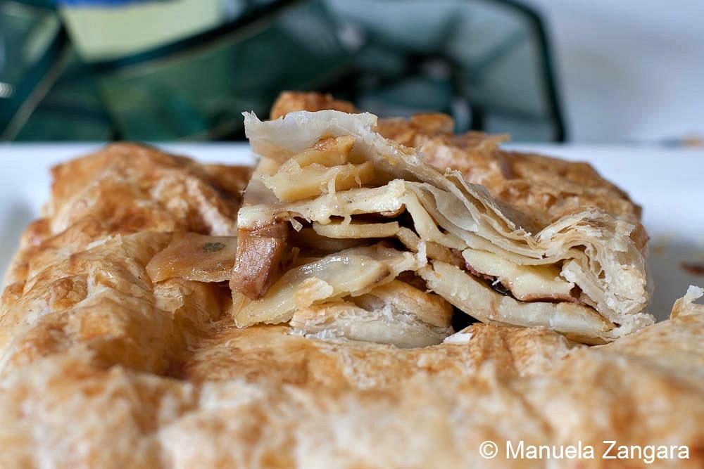 Porcini, Speck and Potato Savoury Pie