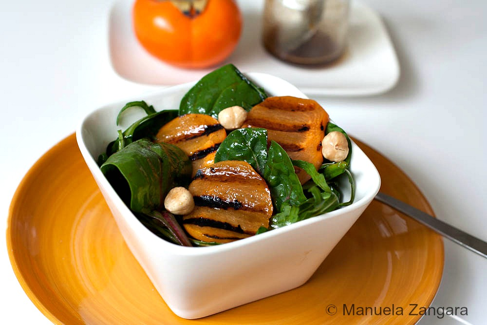Grilled Fuji Fruit, Spinach And Rocket Salad | Stay At Home Mum