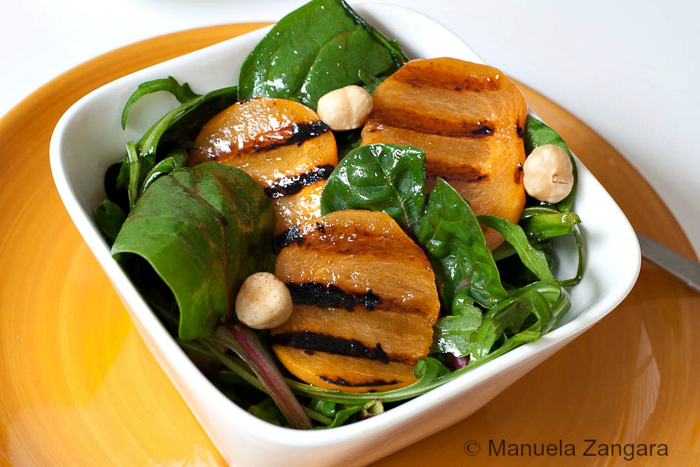 Fuji Fruit Spinach And Rocket Salad