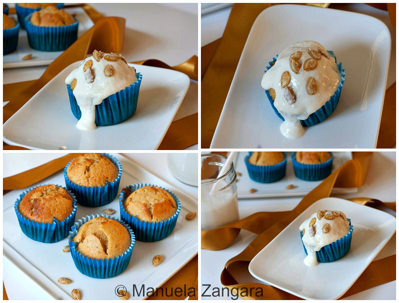 Pumpkin and Coconut Muffins