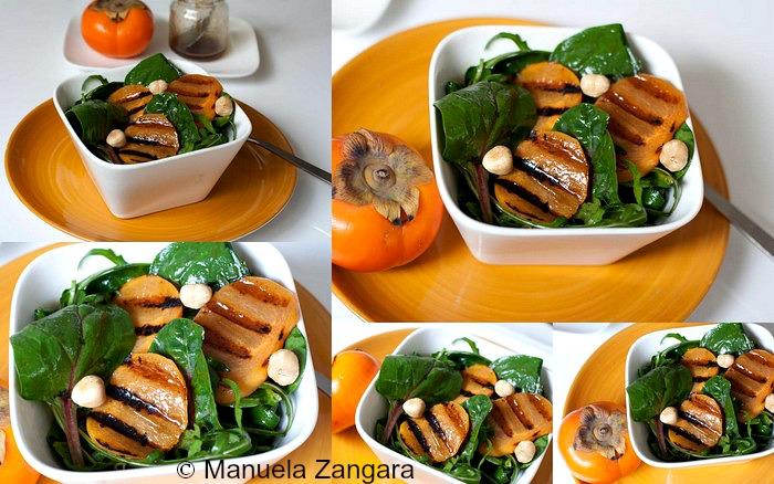Fuji Fruit, Spinach and Rocket Salad