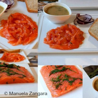 Gravlax with Sweet Dill Mustard Sauce