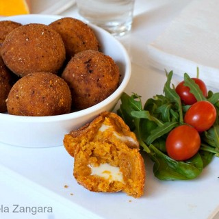 PUMPKIN AND FONTINA CROQUETTES