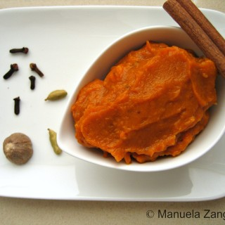 Home-made Pumpkin purée