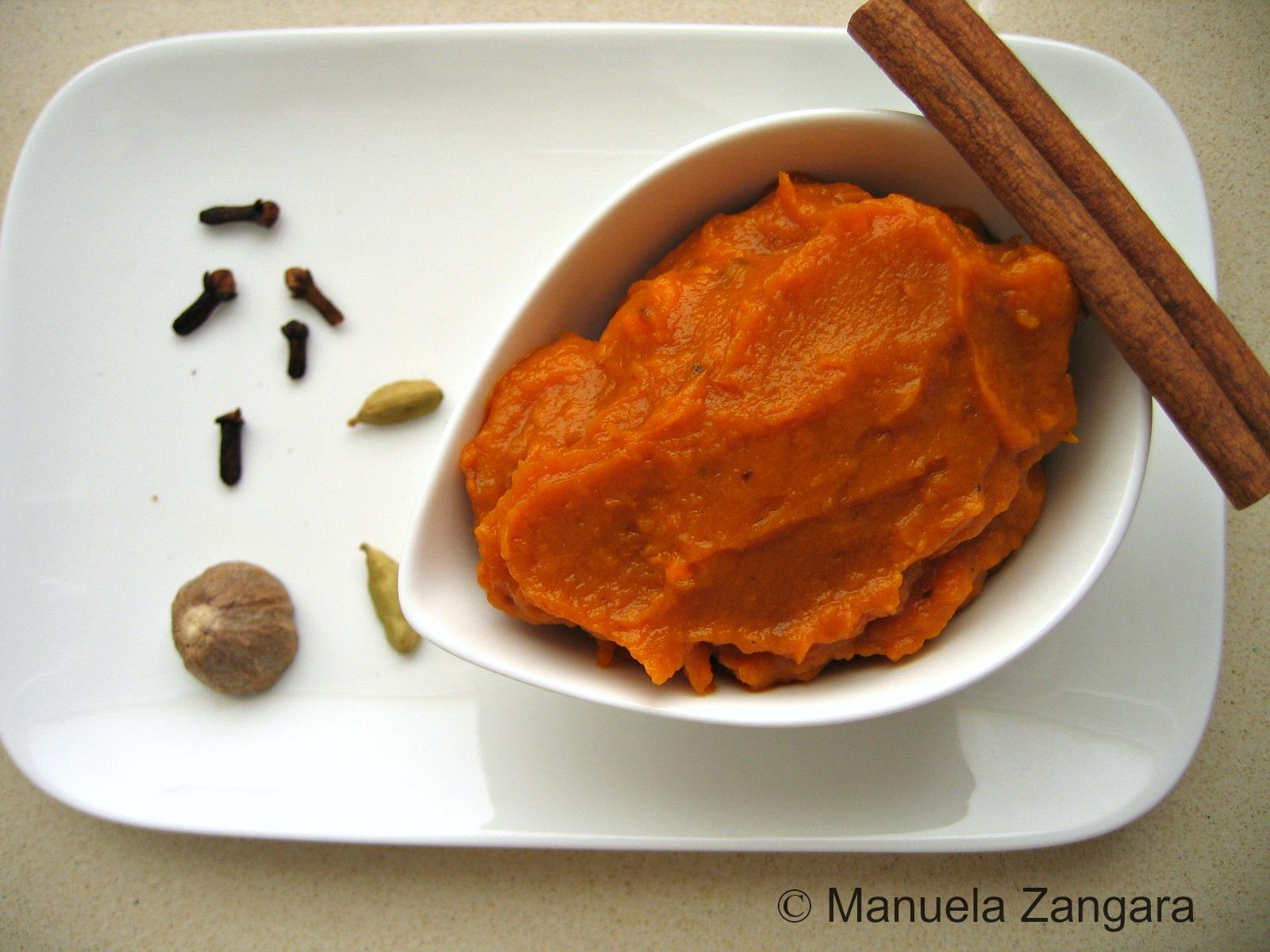 Home-made Pumpkin purée