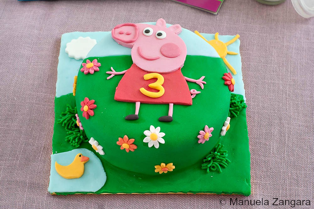 peppa pig birthday cakes