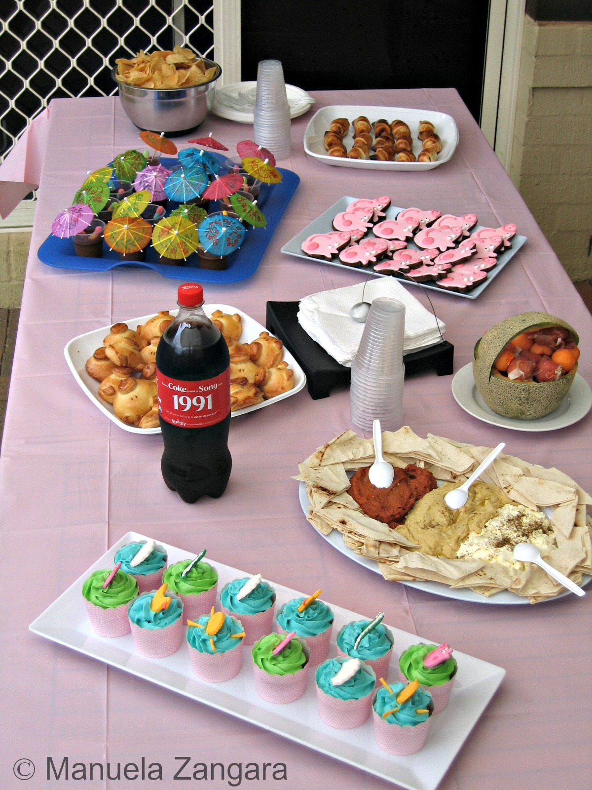 peppa pig birthday party i obviously prepared all the food at home we had a theme party this year as you might have guessed is a big fan of peppa pig so that was our
