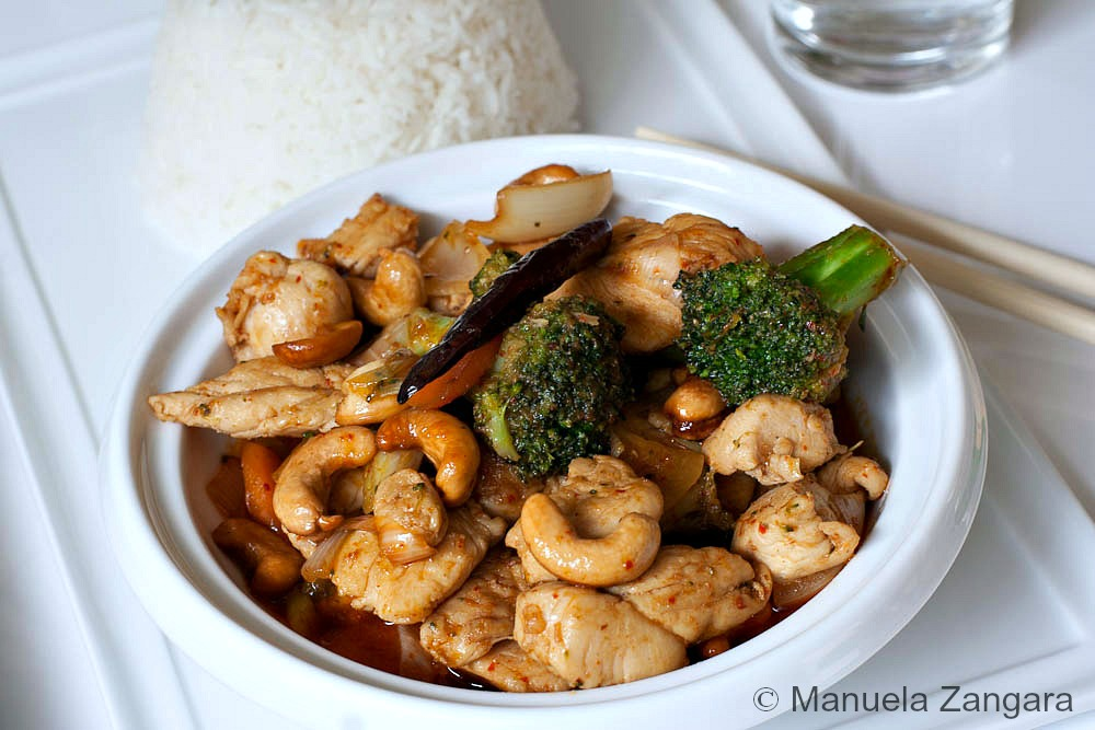 Chicken Stir fry with Cashews nuts
