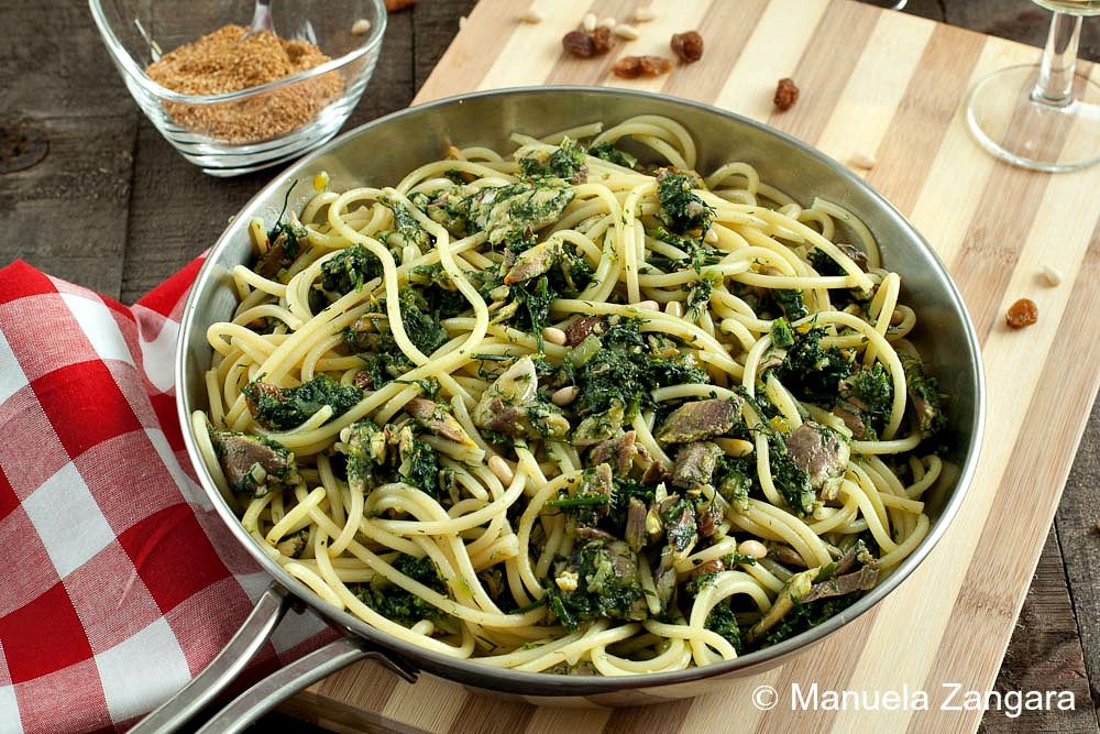 with sardines pasta con le sarde recipe sbs food pasta con le sarde ...