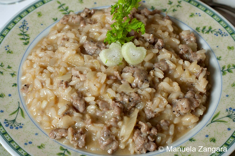 Sausage and Fennel Risotto