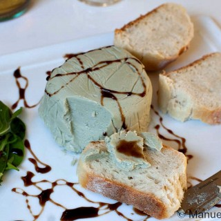Honey and Gorgonzola Piquant Terrine with Balsamic Glaze