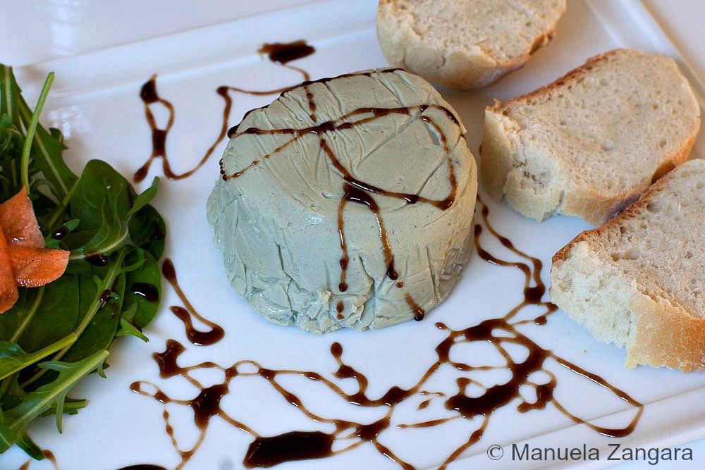 Honey and Gorgonzola Piquant Terrine with Balsamic Glaze