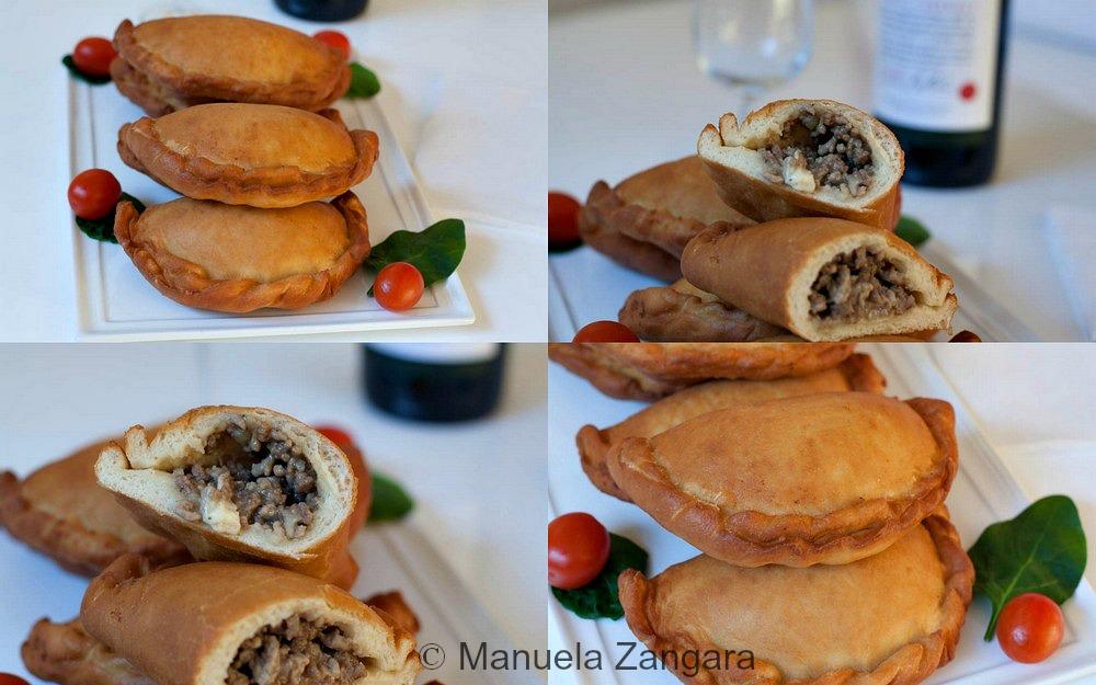 Meat filled Apulian Panzerotti