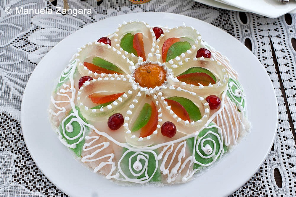 Cassata Alian Sicilian - Baking With Friends Recipe — Dishmaps