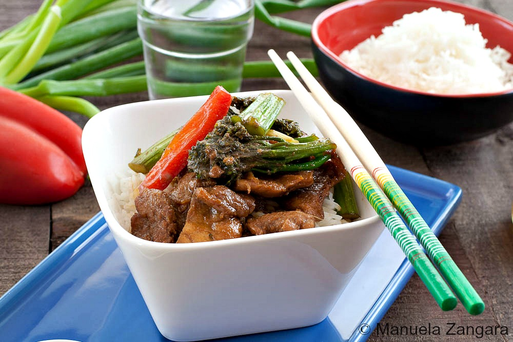 Honey and Ginger Pork Stir Fry