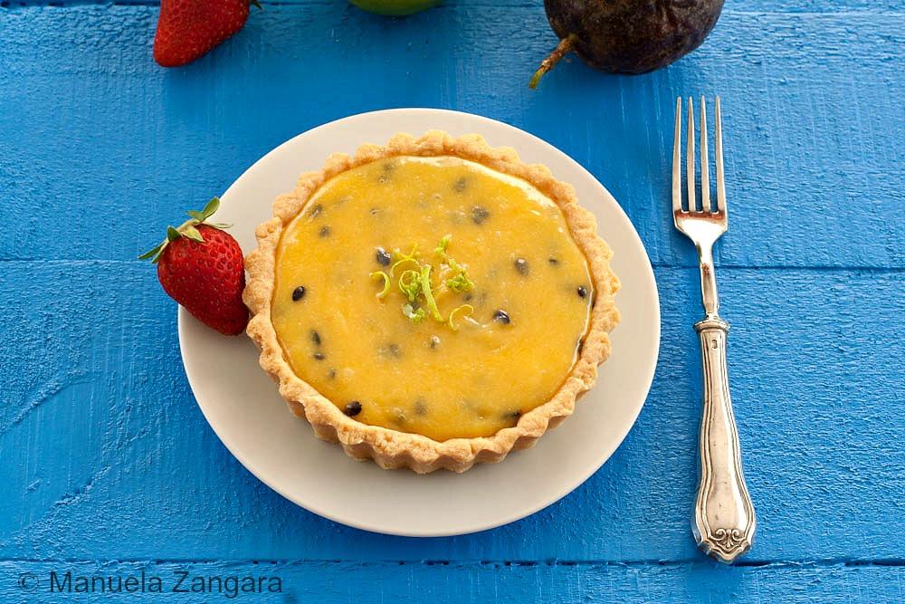 Banana Passion Fruit Cake Recipe