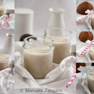 Banana, Coconut and Passion Fruit Smoothie
