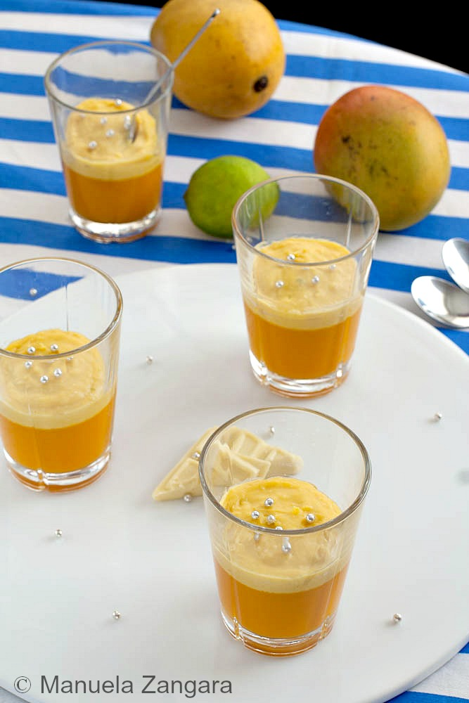 Mango, Coconut and Jasmine Verrines