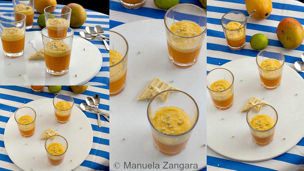 Mango, Coconut and Jasmine Verrines