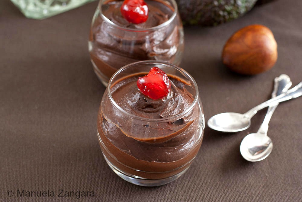 Chocolate and Avocado Mousse
