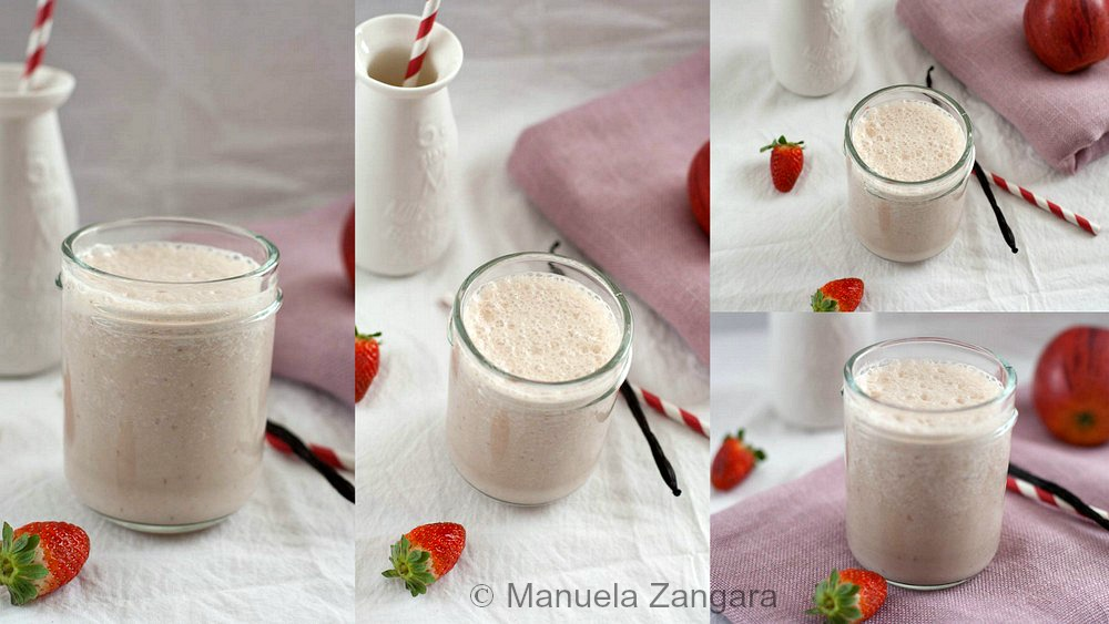 Strawberry, Banana and Apple Smoothie