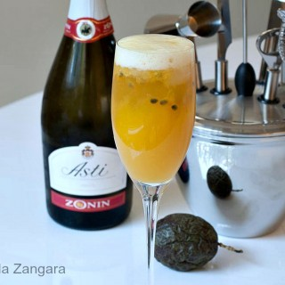 Mango and Passion fruit Cocktail