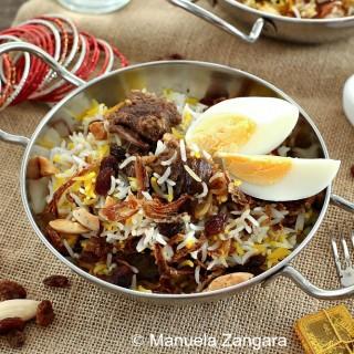 Mughlai Lamb Biryani