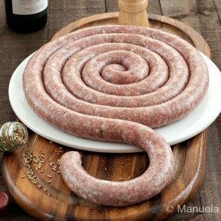 Home-made Sicilian Pork Sausage with Fennel