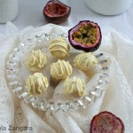 White Chocolate Passion fruit Truffles