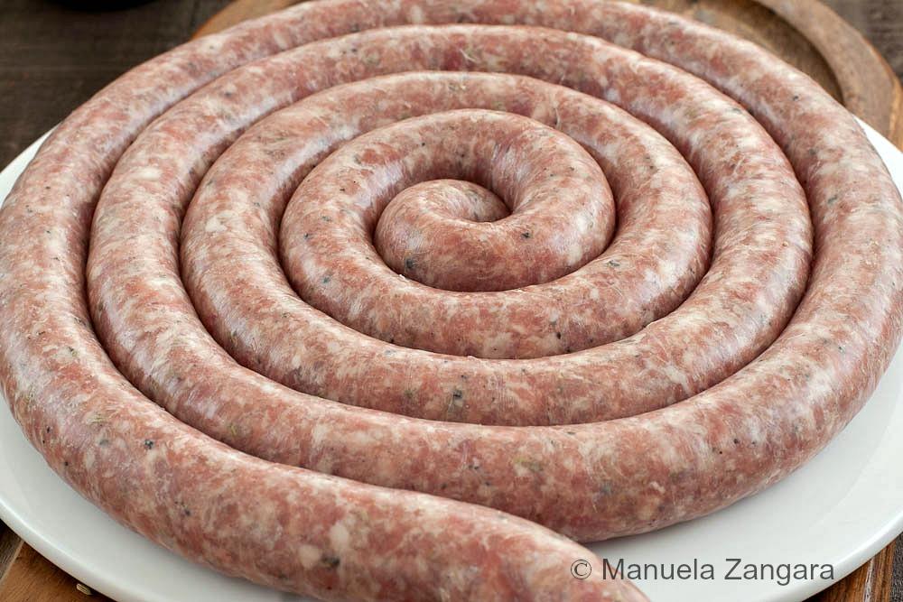 Home-made Sicilian Pork Sausage with Fennel