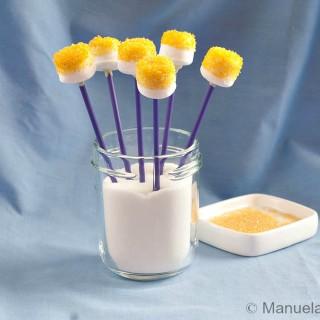 Pixie Dust Marshmallow Pops