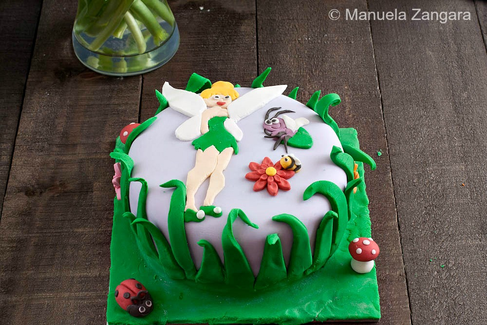 Leave Tinkerbell Birthday Cake And Go To Party Ideas Picture
