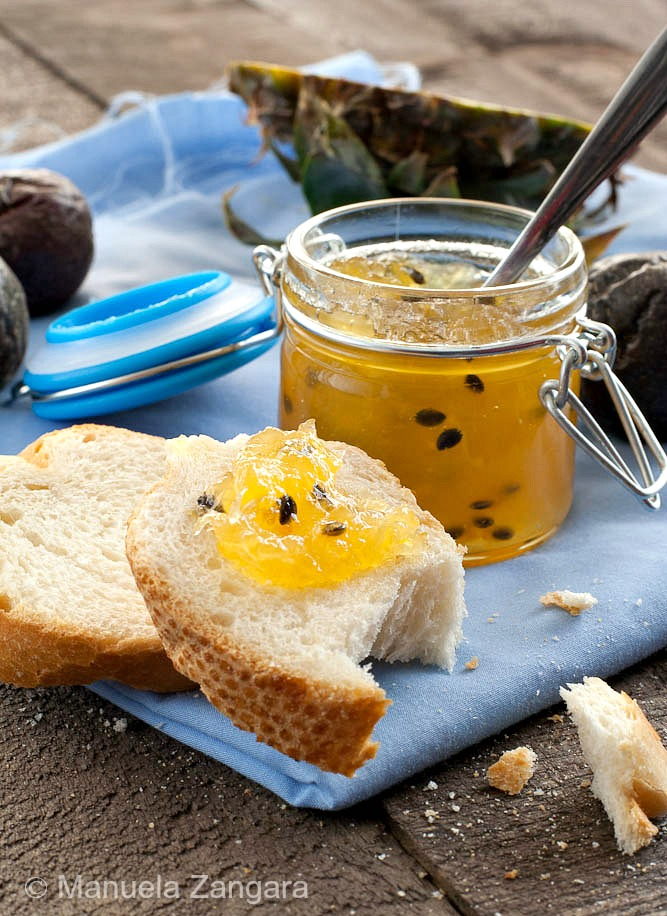 Pineapple & Passion fruit Jam