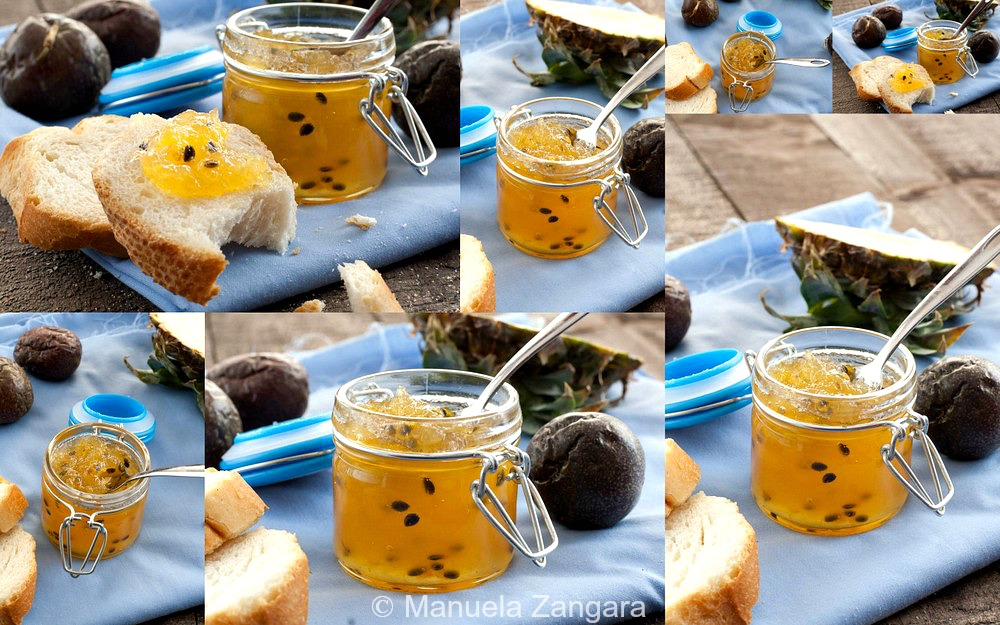 Pineapple & Passion fruit Jam