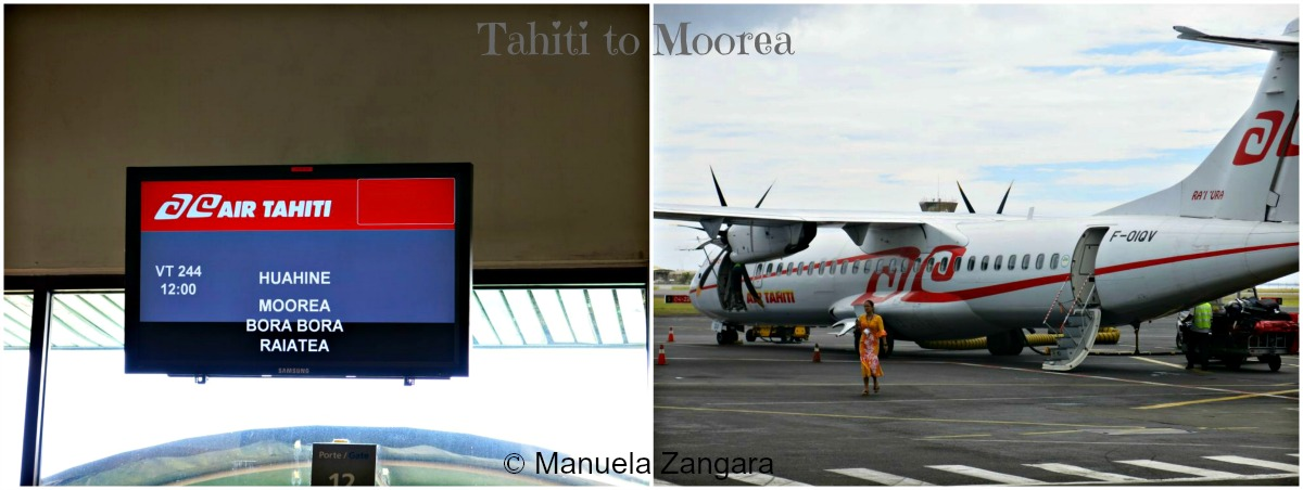 Flight to Moorea 1