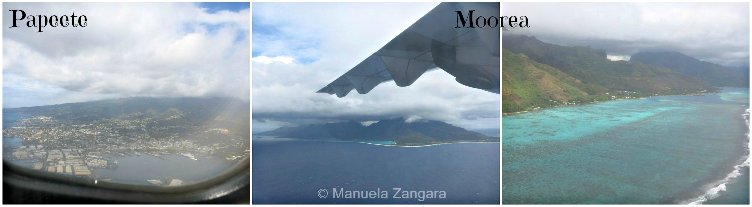 Flight to Moorea 2