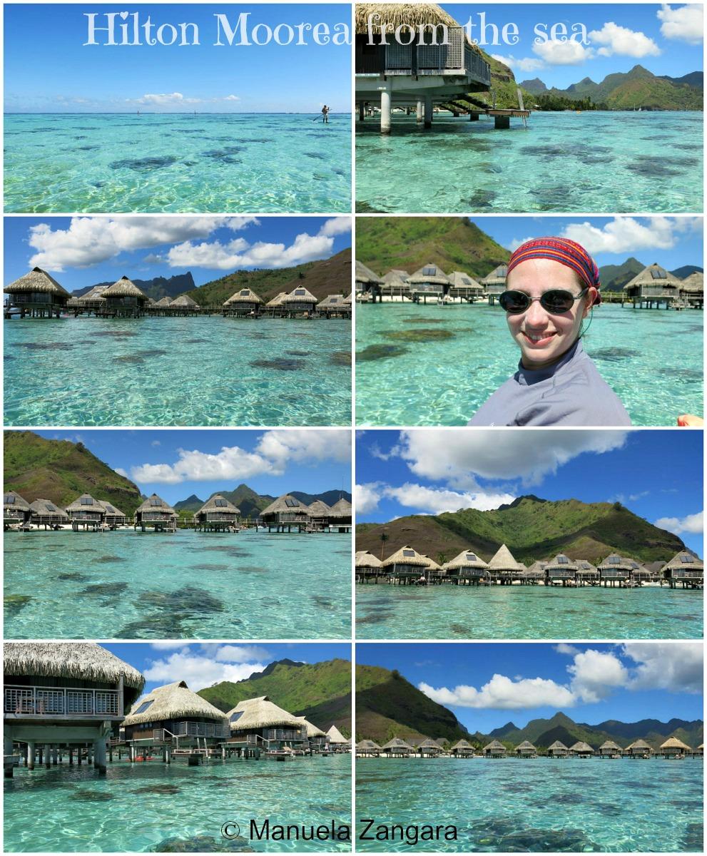 Hilton Moorea from sea