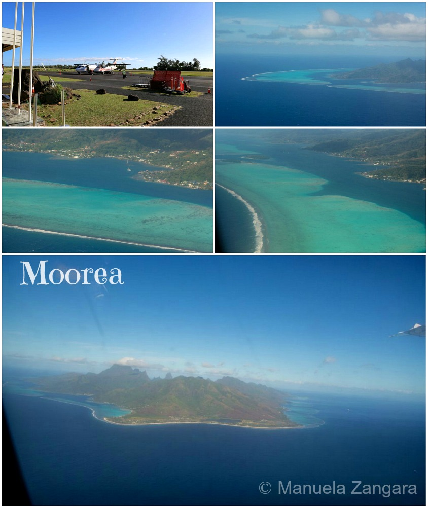 Moorea from plane