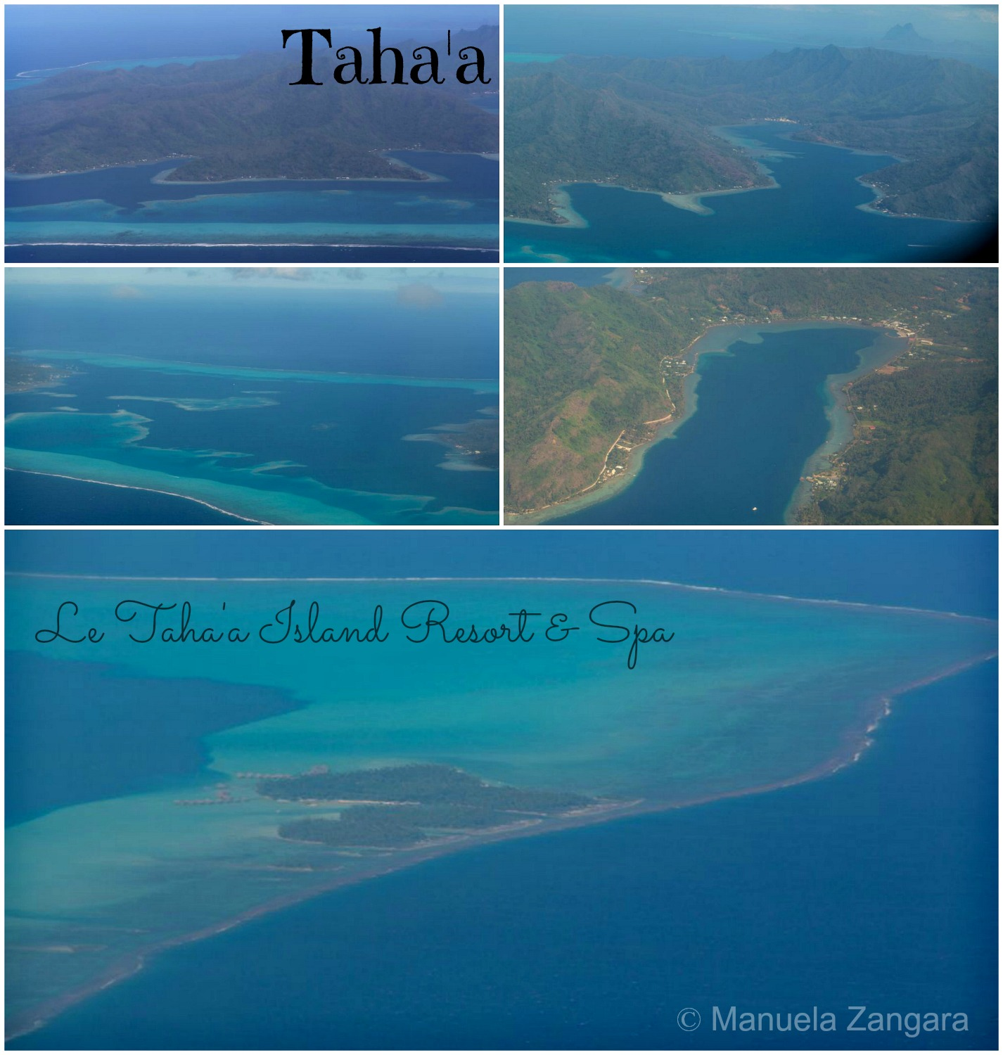 Taha'a from plane