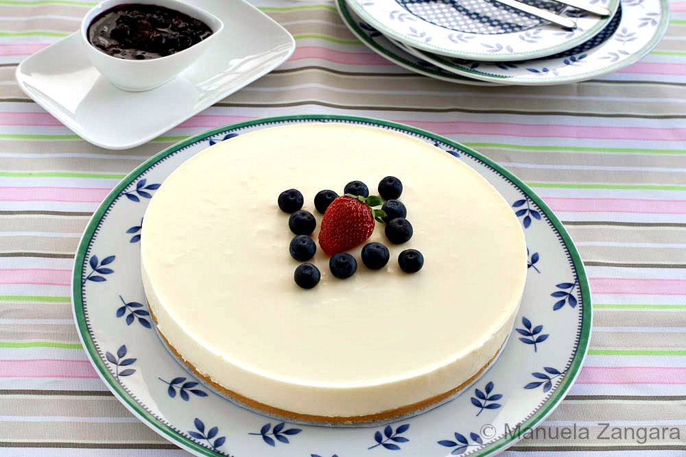 Chilled Yogurt Cake