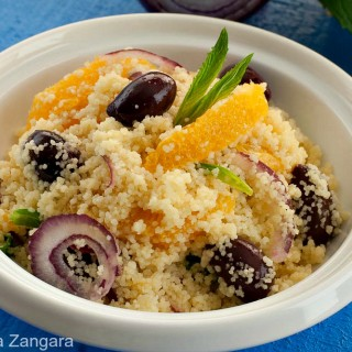 Couscous, Olive and Orange Salad