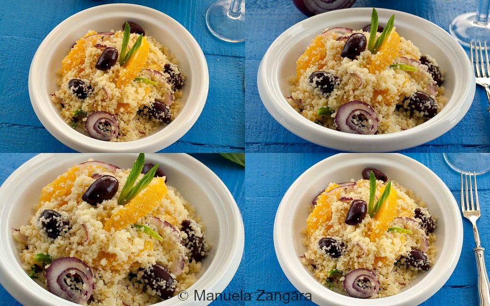 Couscous, Olive and Orange Salad