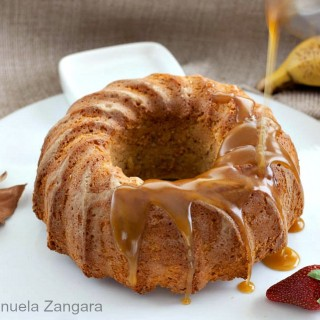 Banana Cake with Maple Butterscotch Sauce