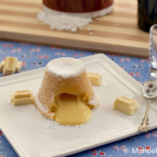 Molten White Chocolate Pudding