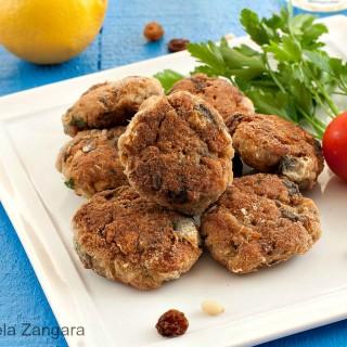 Polpette di Sarde alla Siciliana - Sicilian Sardine Patties