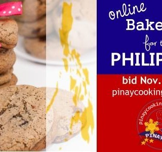 ONLINE BAKE SALE FOR THE PHILIPPINES #bakesale4pinas