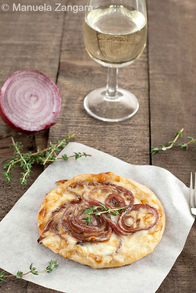 Red Onion and Taleggio Pastries