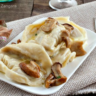 Cappellacci with Porcini and Sausage